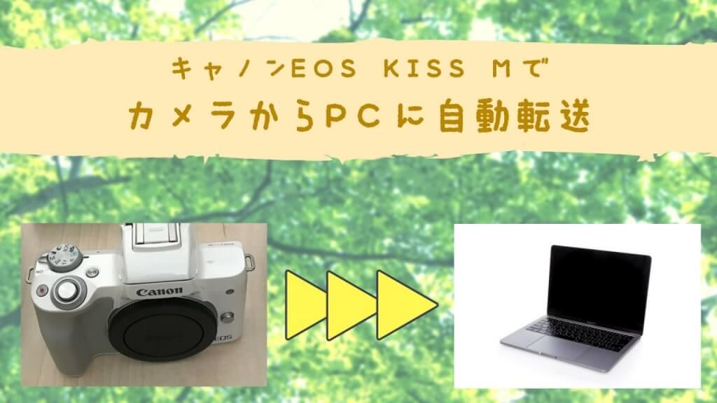 キャノンEOS kiss Mで画像をパソコンに取り込む方法まとめ